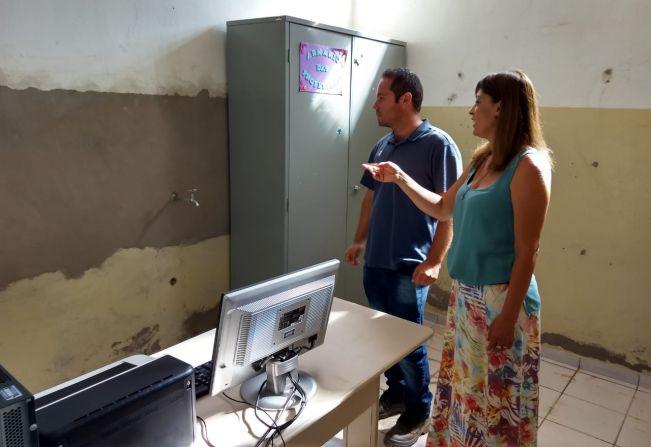 NEI Cândida Soares de Souza, no Distrito de Jafa, está passando por reformas