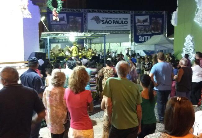 "Público marcou presença na noite de quarta, dia 12, no ""Natal Espetacular"""
