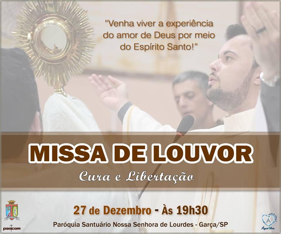 Frei Lucas celebrará última missa dia 27 de dezembro