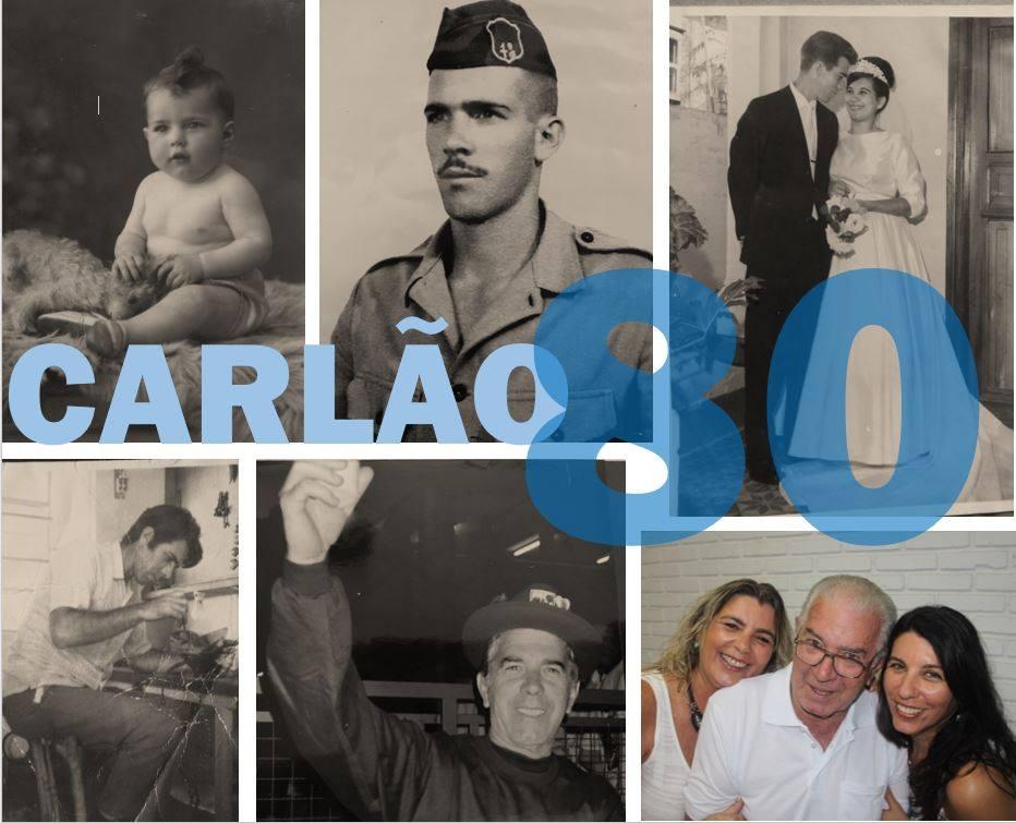 Carlão da Eletrônica: 80 Anos - Por Tico Cassolla
