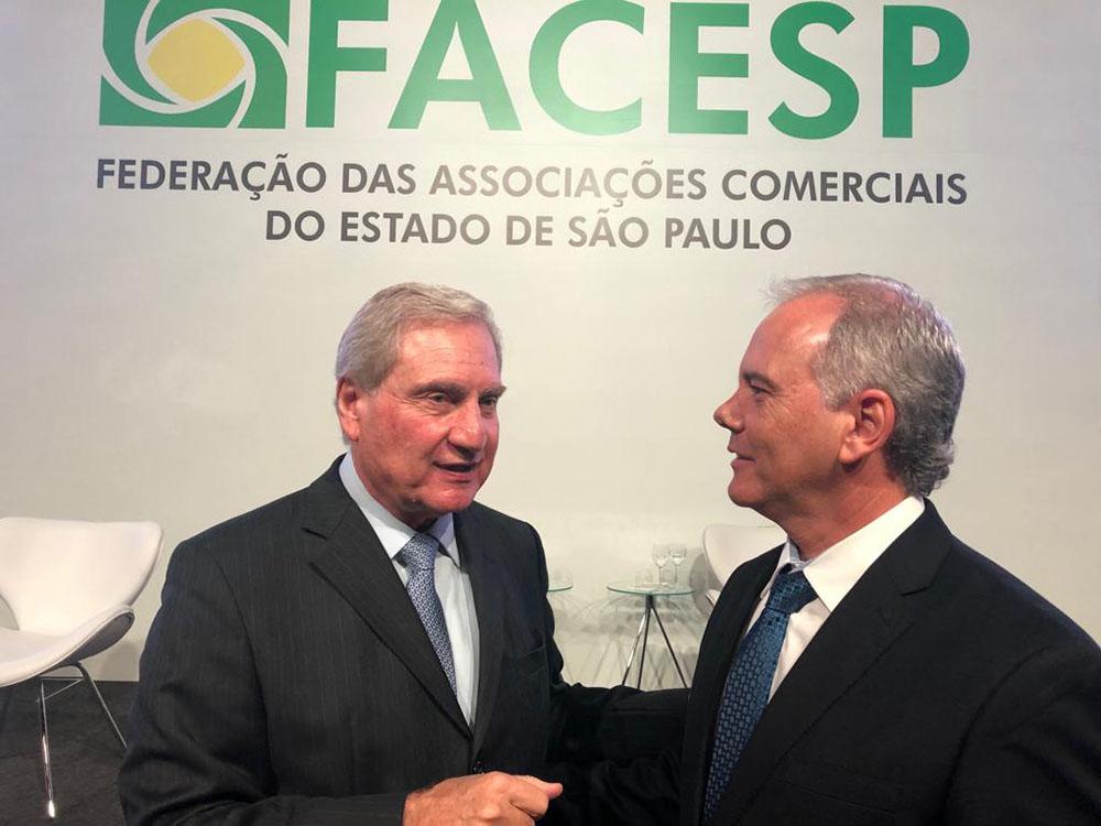 ACIG participa de cerimônia de posse da nova diretoria da Facesp