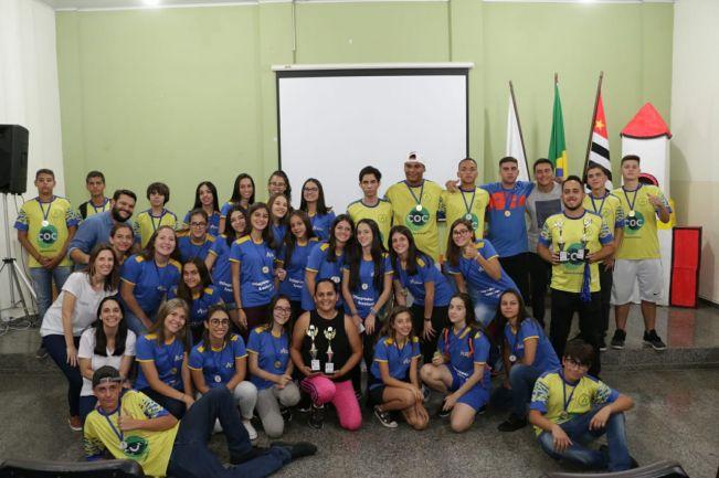 Cerimonial de premiação marca o encerramento oficial da Olimpíada Escolar