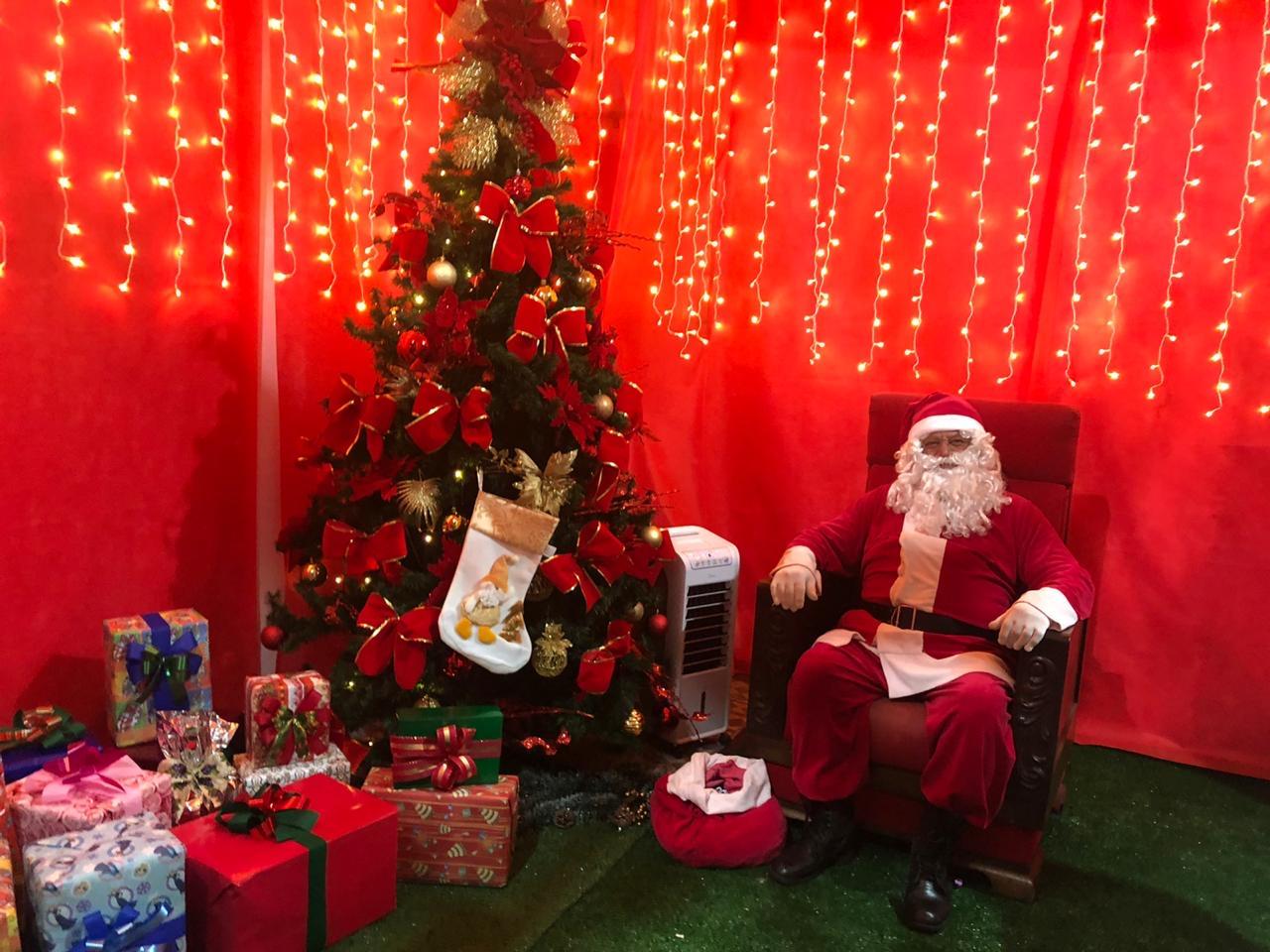 ACIG: Trenzinho e Casa do Papai Noel conquistam crianças e adultos em Garça