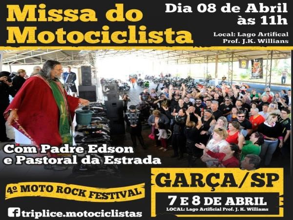 Encontro de motociclistas acontece no próximo final de semana em Garça