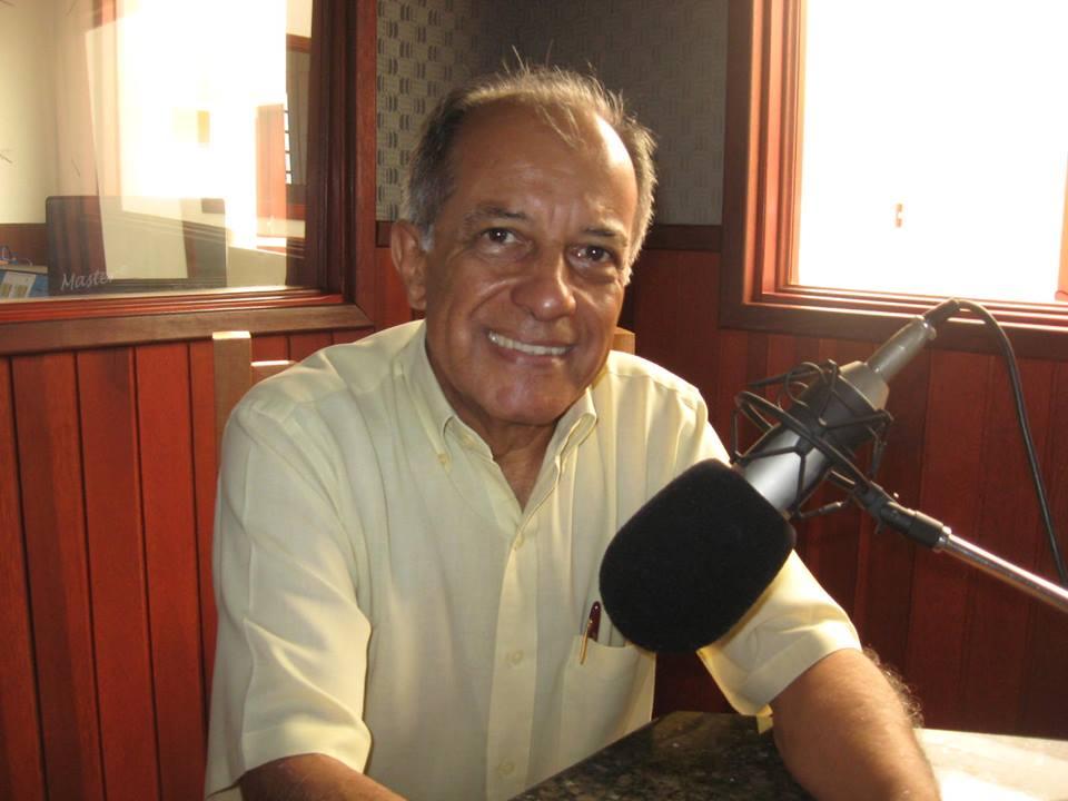 A Rádio Clube de Garça na Inauguração do ''Platzeck''
