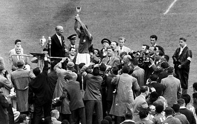 Historia das Copas: 1.958, Brasil campeão (Wanderley -Tico- Cassolla)