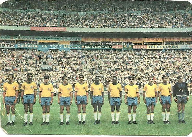 História das Copas:1.970, Brasil tri-campeão